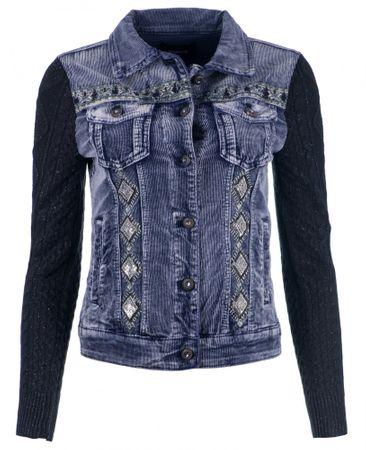 Desigual Silver női kabát 34 kék  383c770134