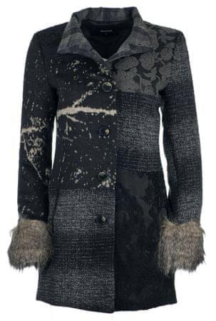 Desigual ženski kaputi Charlotte 36 tamno siva