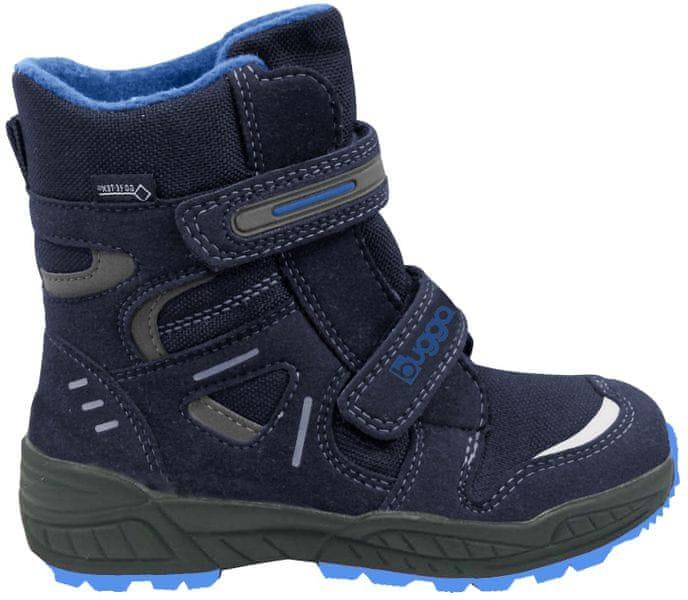 Bugga chlapecké zimní boty 28 modrá 9b9656233b