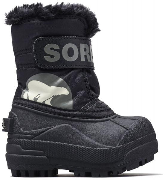 Sorel dětské sněhule SNOW COMMANDER™ 31 černá