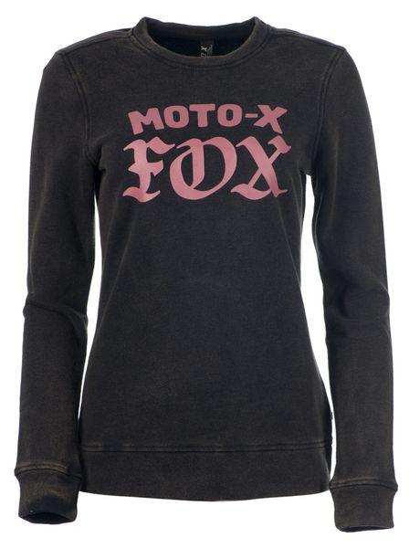 FOX dámská mikina Moto X Crew XL černá