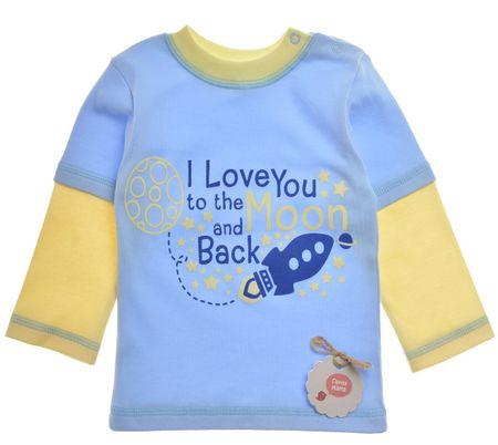 Garnamama fantovska majica, 80, modra