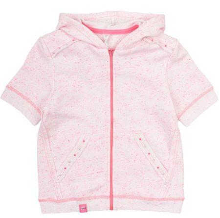 Garnamama Dziewczęca bluza/kamizelka 80 różowy