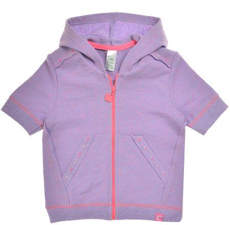 Garnamama Dziewczęca bluza/kamizelka 80 fioletowy