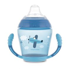 Canpol babies nevylévací hrníček se silikonovým pítkem 230 ml Toys