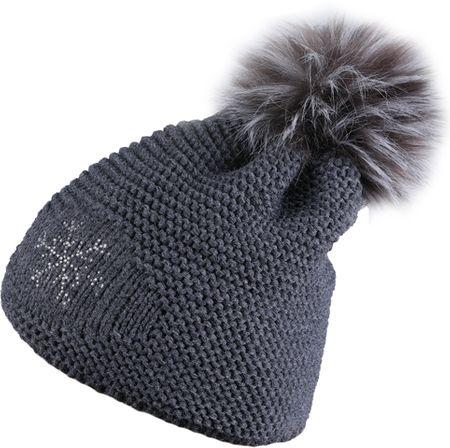 Sherpa Damska czapka zimowa Nora Dk.Grey