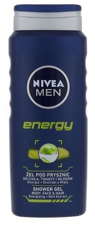 Nivea Men gel za tuširanje Energy, 500 ml