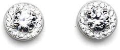Oliver Weber Náušnice Clear 62060-001 stříbro 925/1000