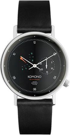 Komono WaltherRetrograde Black KOM-W4030
