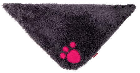 Bexa dívčí šátek Pin-up S šedá