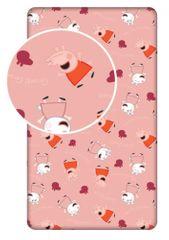 Jerry Fabrics otroška rjuha Peppa Pig PEP028, Pujsa Pepa