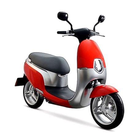 CLS MOTORCYCLE Elektrický skútr ECOOTER 3kW červená