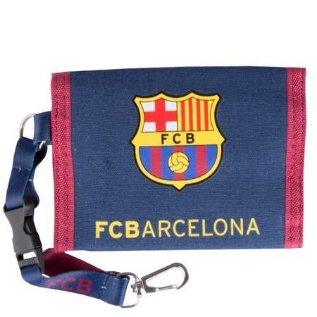 denarnica s sponko FC Barcelona