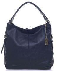 Anna Morellini tmavě modrá kabelka