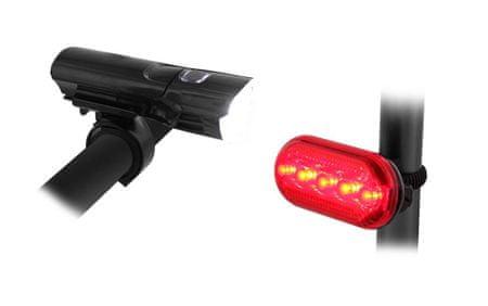 TNB set označevalnih luči za kolo, spredaj in zadaj