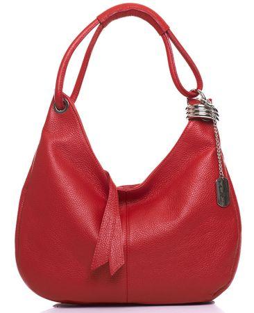 Anna Morellini torebka damska czerwona