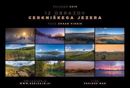 Zoran Vidrih in Sandra: KOLEDAR: 12 obrazov Cerkniškega jezera