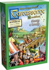 Mindok Carcassonne - rozšírenie 8 (Mosty a hrady)