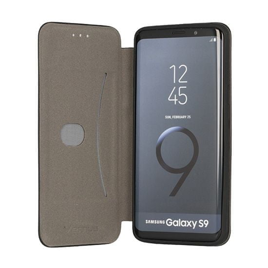 Havana Torbica Premium Soft za Samsung Galaxy S9 Plus G965, preklopna, črna