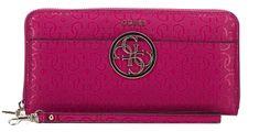 Guess Dámská peněženka Kamryn Embossed Zip-Around Wallet