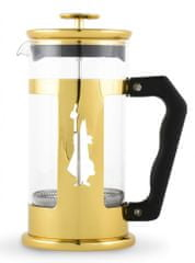 BIALETTI kuhalnik za kavo Coffee Press Preziosa 1 LT Gold