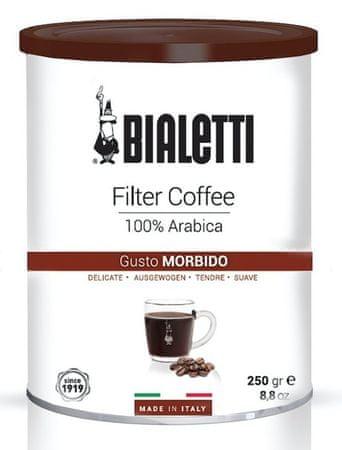 BIALETTI kawa Coffee Tin 250 gr. Filtered