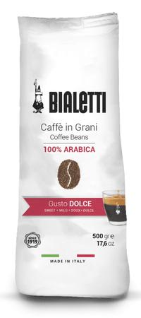 BIALETTI kawa Whole Coffee Beans Bag Gusto Dolce 500 g