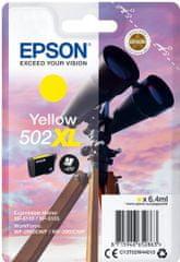 Epson 502XL, žlutá (C13T02W44010)