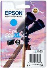 Epson 502XL, azurová (C13T02W24010)
