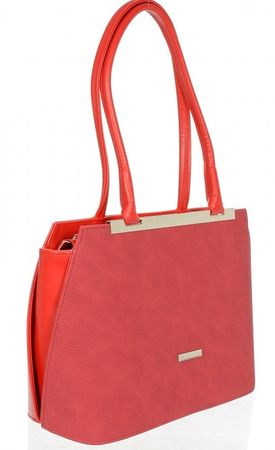 GROSSO BAG červená kabelka  3f743085703