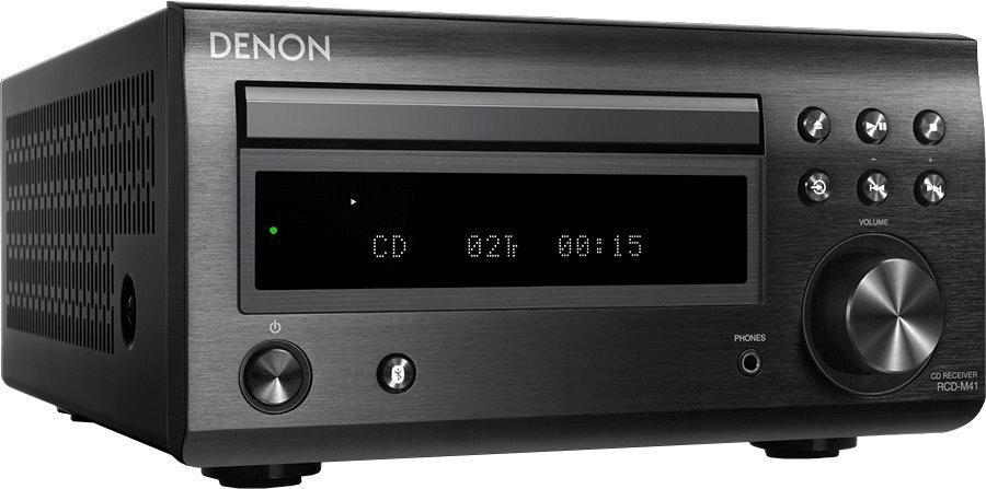 minisystém Denon RCD-M41 čistý zvuk poměr odstupu signál šum
