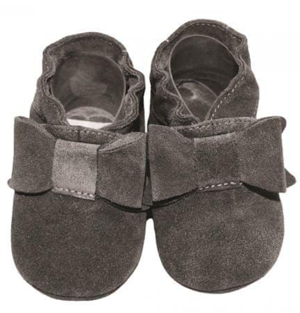 baBice buty dziewczęce Bow 16.5 szare