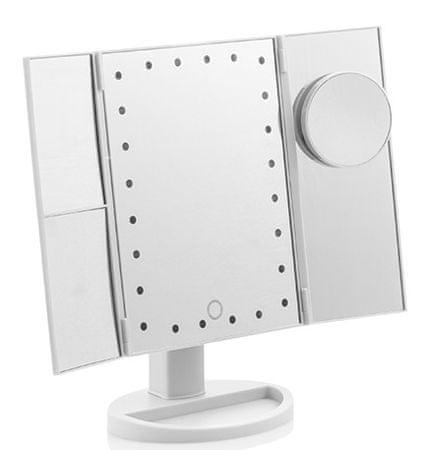 Ceramic Blade povečevalno ogledalo, LED, 4 v 1