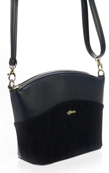 GROSSO BAG tmavě modrá crossbody kabelka