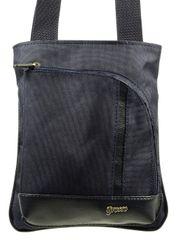 GROSSO BAG pánská tmavě modrá crossbody taška