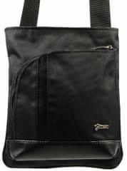 GROSSO BAG pánská černá crossbody taška