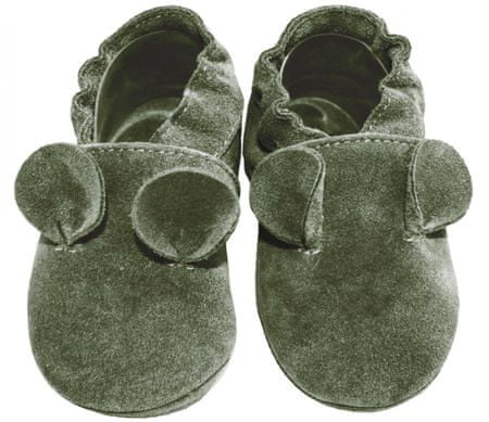 baBice buty chłopięce Mouse 16.5 zielone