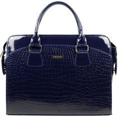 GROSSO BAG tmavě modrá kabelka