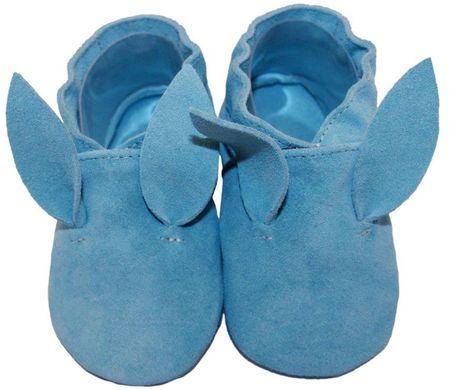 baBice chlapecké capáčky Bunny 16.5 modrá