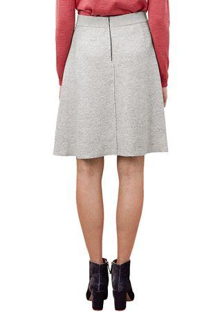 s.Oliver Dámská světle šedá sukně (Velikost 36)  bc96ace3fc