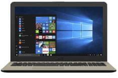 Asus prenosnik VivoBook 15 X540MA-DM132 N4000/4GB/SSD256GB/15,6FHD/EndlessOS (90NB0IR1-M02690)