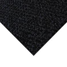 FLOMA Černá kobercová vnitřní čistící zóna Alanis - 50 x 200 x 0,75 cm