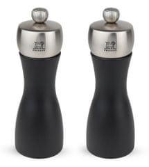 Peugeot FIDJI set mlýnek na pepř a sůl 15 cm černý/nerez