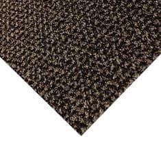 FLOMA Hnědá kobercová vnitřní čistící zóna Alanis - 50 x 100 x 0,75 cm