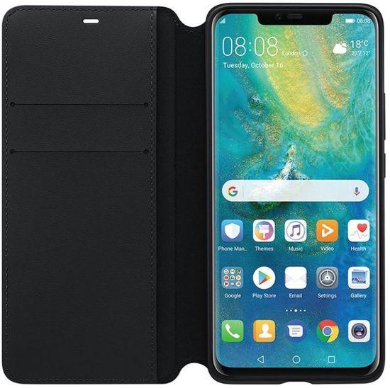 Huawei preklopna torbica Wallet za Huawei Mate 20 Pro črna