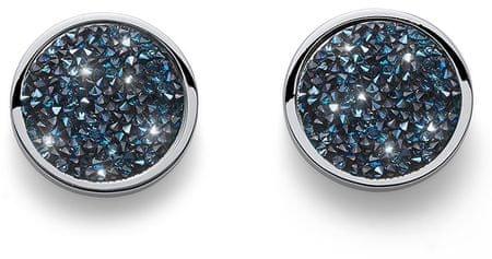 Oliver Weber Fülbevalók ömlesztett kristályokkal Extase 22731 BLU
