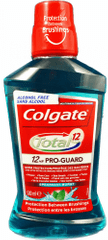 Colgate Ústní voda Total 12hr Pro-Guard 500 ml 2 ks