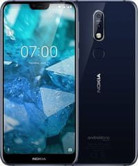 Nokia 7.1, 3GB/32GB, Single SIM, Midnight Blue