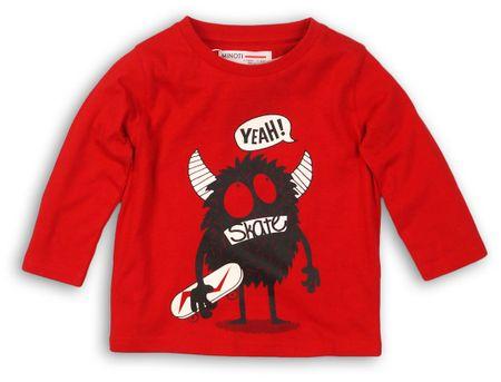 Minoti chlapecké tričko BTEE 80 červená