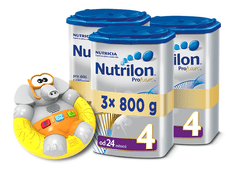 Nutrilon 3x Profutura 4 - 800g + IF Slon do vany